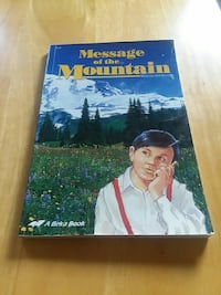 Message of the Mountain book New Concord, 43762