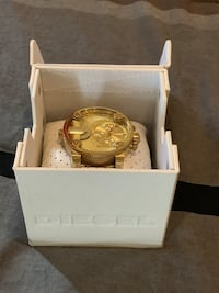 Diesel Watch, Men's Gold-Tone Stainless Steel Bracelet 51mm DZ7287 Suitland, 20746