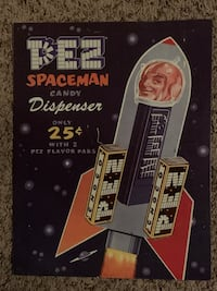 Pez Dispenser Candy Metal Signs Des Moines, 50313