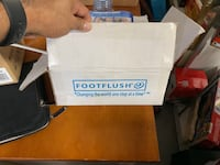 FOOT FLUSH - The Hands Free, Germ Free, Toilet Flushing Foot Pedal Mississauga