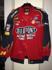 Chase black and red nascar button up jacket Kingsburg, 93631