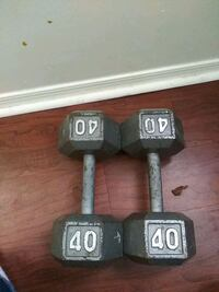 40 pound dumbbells District Heights, 20747