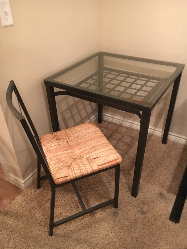 Letgo must sell by 4 21 ikea dining set in dallas tx for Ikea in dallas