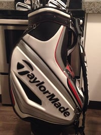 TaylorMade golf set including taylormade irons and drivers Grande Prairie
