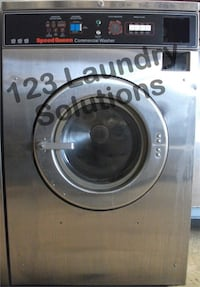 Commercial Used Speed Queen Front Load Washer Stainless Steel SC35MD2YU40001 La Habra