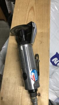 silver and black Campbell Hausfeld pneumatic angle grinder Toronto, M6E 4L8