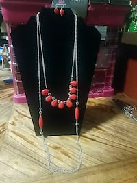 silver-colored red chain necklace Roswell, 88203