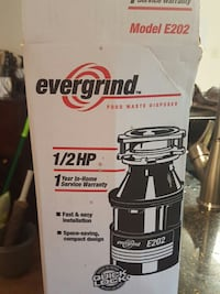 Evergrind E202 Garbage Disposal Bonaire, 31005
