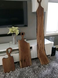 Live edge charcuterie cheese serving boards