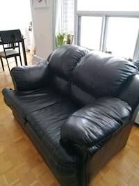 Real Leather Love Seat Toronto, M3H 4X9