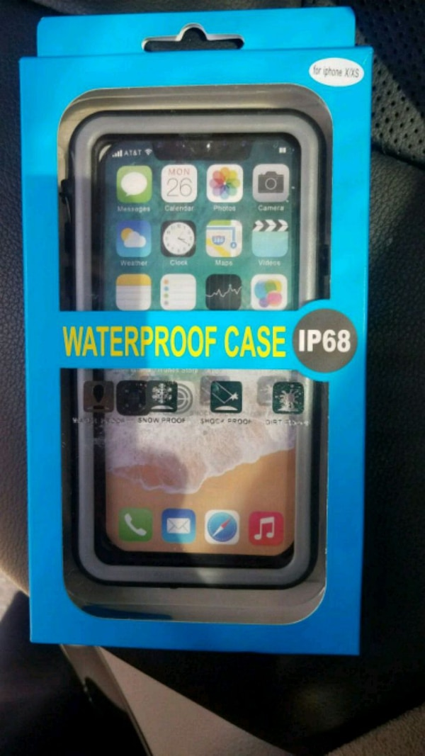 Waterproof case for iPhone x/xs