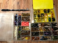 Fishing Rod, Lures, Hooks and Sinkers Caledon, L7C 3M8