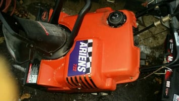 airens 722 single stage snowthrower good cond