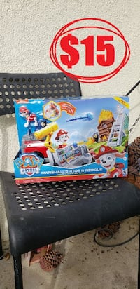 NEW Paw Patrol Marshall Transforming Fire Truck with Launching Water Cannons Brand new  $15. Price is firm. Thank you Pick up in Ventura near the Government  Ventura