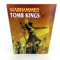 Warhammer 40K Tomb Kings Armies Book 2002 Edition Games Workshop 40,000 Codex Port Colborne