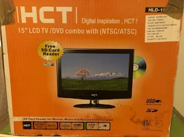"""HCT 15"""" LCD TV/DVD combo"""