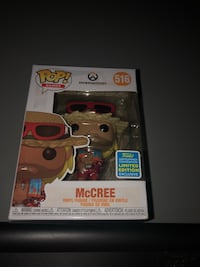 Overwatch McCree summer convention limited edition Funko Pop