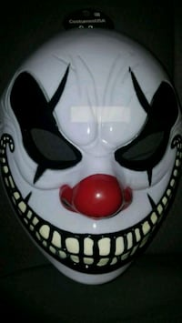 New scary clown front face mask Scranton, 18504
