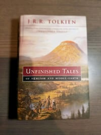 "J.R.R. Tolkien ""Unfinished Tales of Numenor And Middle Earth"" Mississauga, L4Y 3S4"