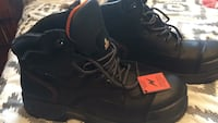 black leather lace up boots Surrey, V3T 4B3