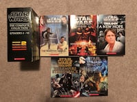 Star Wars Books (5 Books) Brampton
