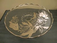 Crystal Cake/Candy Serving Plate Aberdeen, 21001