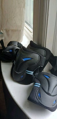 black-and-blue Nike basketball shoes St. Louis, 63121