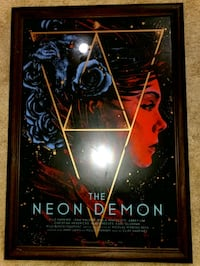 The Neon Demon Art Poster With frame Limited 80/99 Richmond, V7C 1B8