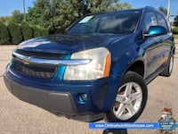 2006 *Chevrolet Equinox* AWD LT LOADED LEATHER SUNROOF ONLY 98K CLEAN NO RUST WE FINANCE Akron, 44301