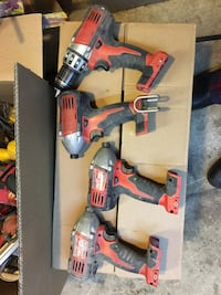 Milwaukee m18 drills and drivers