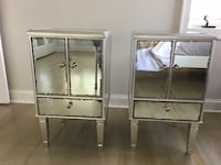 Two glass  side tables Norwalk, 06855