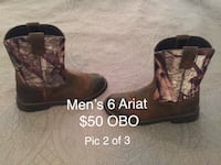 Men's size 6 Ariat boots Greenbrier, 37073
