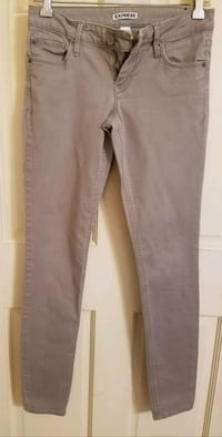 EXPRESS BEIGE Skinny Low Rise Stretch Jeans SIZE 0 Hopewell Junction, 12533