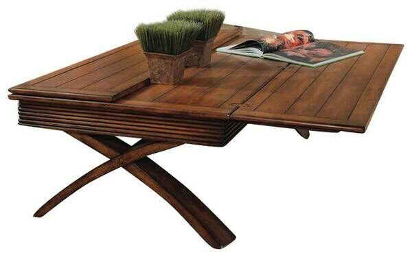 New Magnussen Bali Coffee Table W Flip Out Extens