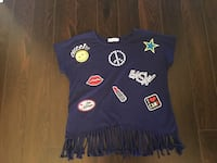 Girls size s/m top (Like New)  Milton, L9T 2R1