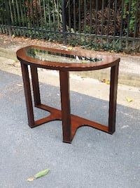 Console table with glass top Virginia Beach