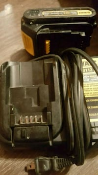 Dewalt 20 volt charger and battery Oklahoma City, 73130