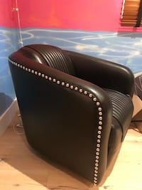 2 Leather Moto Swivel chairs Los Angeles, 91604
