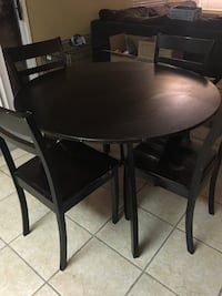 Dining table with 4 chairs Highland, 92346