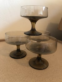 Vintage champagne glasses  Virginia Beach, 23455