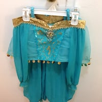 PRINCES JASMINE COSTUME ONE TIME WORN GRATE CONDITIONS LIKE Brand NEW FROM DISNEY STORE SIZE 5-6 Hamilton, L8V 4K6