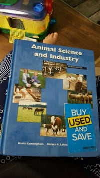 Intro to Animal Science book Columbia, 38401