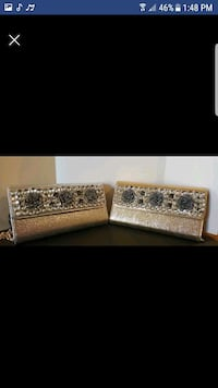 BEAUTIFUL AND EXCLUSIVE SILVER AND GOLD CLUTCHES 556 km