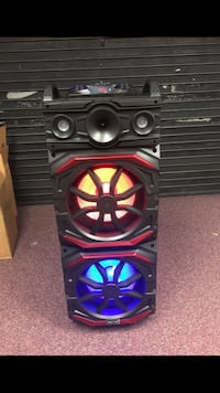 black and red Kicker subwoofer Fairfax, 22031