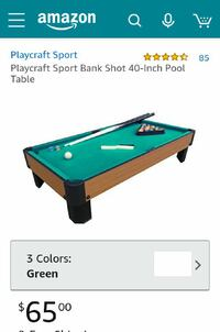 Mini Pool table  Silver Spring