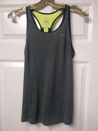 $10$ Black, Grey & Yellow Work Out Top (Size S) Ajax, L1T 3N7