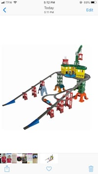 Thomas & Friends - Super Station Track Set Waldorf, 20602