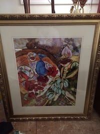 multicolored floral painting Fuquay-Varina, 27526