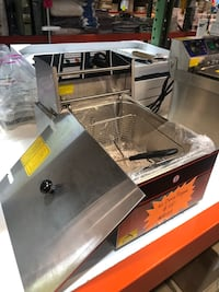 Countertop Electric Stainless Steel Deep Fryer