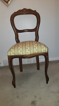 French Provincial Chairs - 2 Available Laval